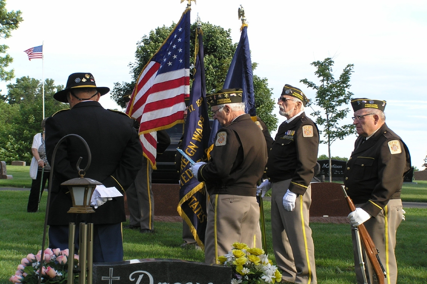 Honor Color Guard Funeral