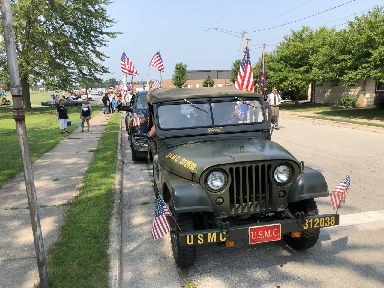 Restored Jeep owner Jerry Smits 7692